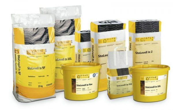 Строительные материалы швейцарского производителя Sto AG