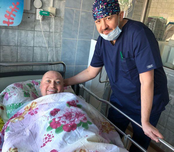 Шура прошел курс лечения от онкологического заболевания
