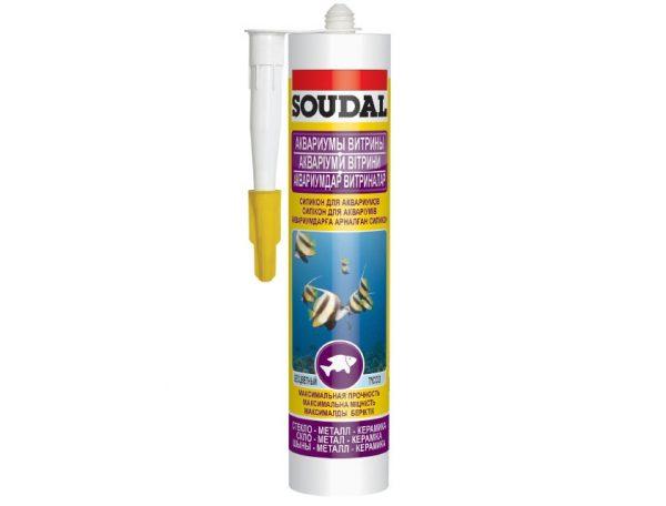 Силикон для аквариумов Soudal Силируб