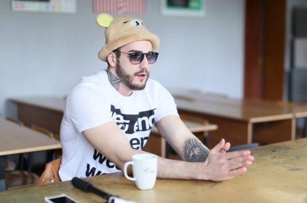 Видеоблоггер Андрей Афонин