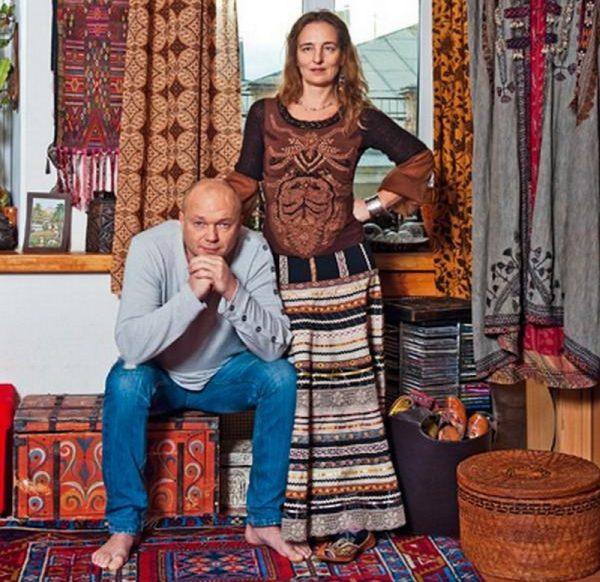 Андрей и Дарья любят восточный стиль
