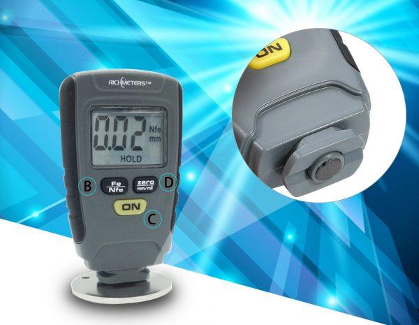 Цифровой измеритель толщины покрытия RM660