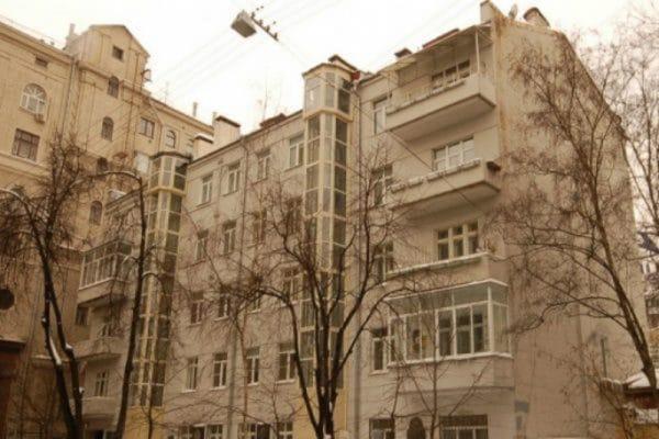Дом Бондарчука в Брюсовом переулке