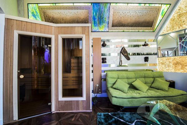 Эко-комната с сауной