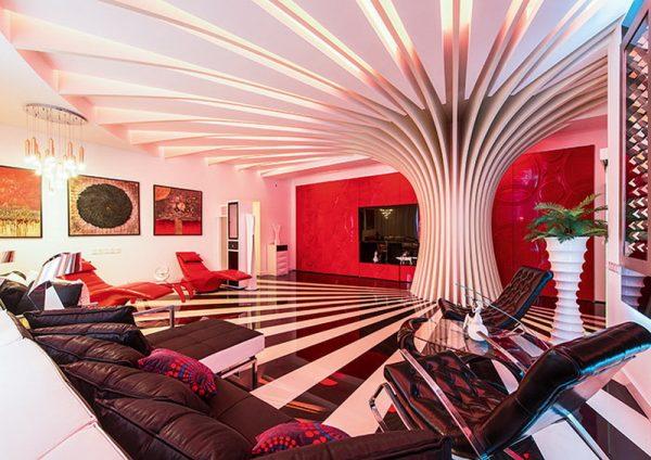 Эксклюзивный дизайн квартиры Алибасова