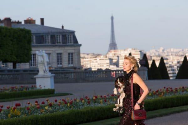 Рената Литвинова в Париже