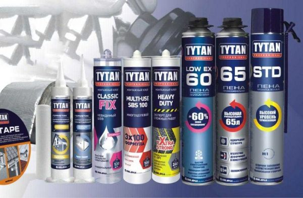 Средства Tytan Professional