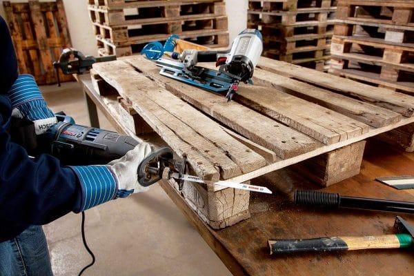 Инструменты для обработки деревянных поддонов