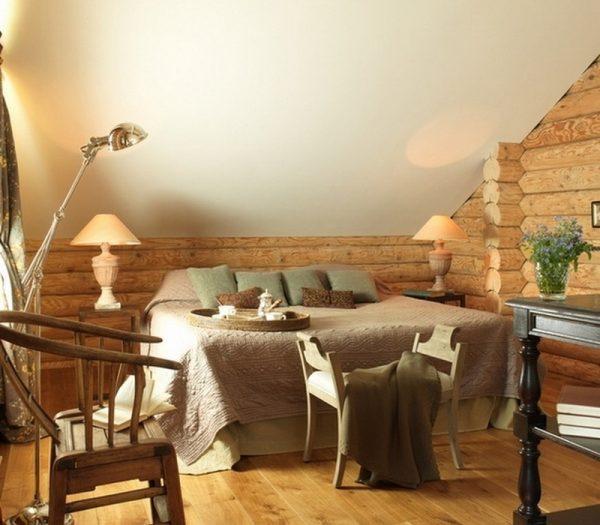 Дизайнерская мебель в спальной комнате