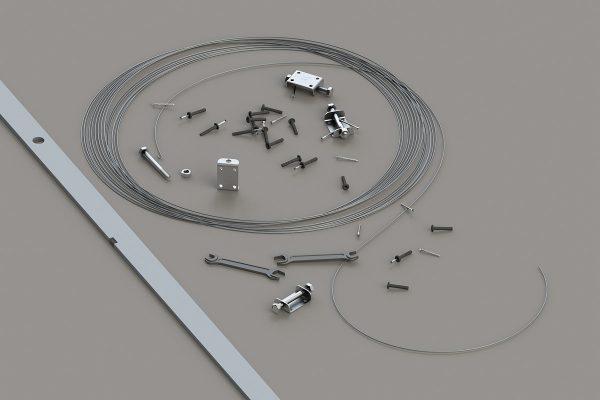 Комплект струнных маяков для штукатурки