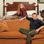 Марат Башаров с женой в своей квартире