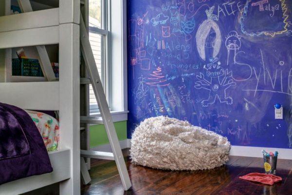 Грифельная краска - эффекты школьной доски