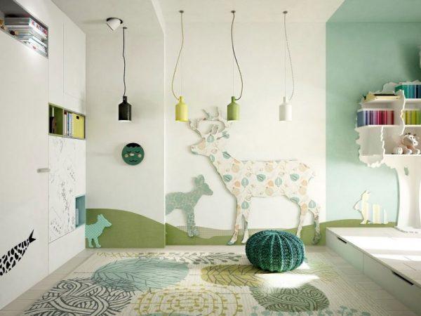 Креативные идеи интерьера детской комнаты