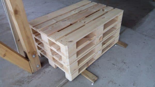 Новые деревянные европоддоны на продажу