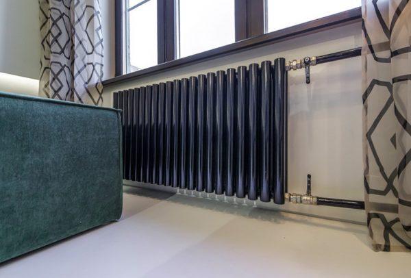 Покраска черной краской улучшает теплоотдачу радиаторов