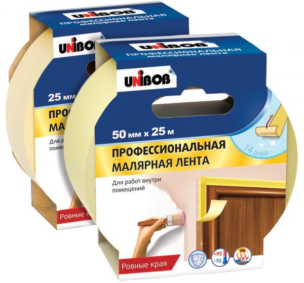Профессиональная малярная лента Unibob