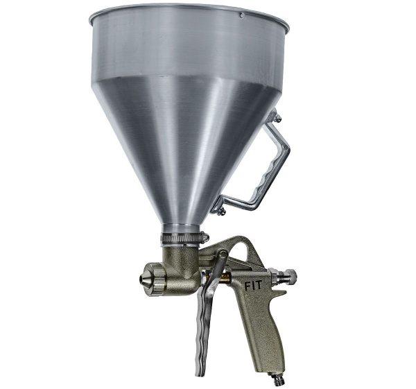 Профессиональный картушный пистолет из алюминия