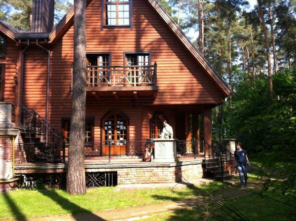 Родовой дом Кончаловского на Николиной горе