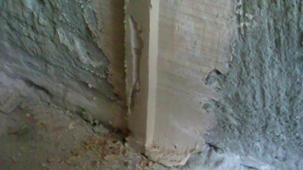 Самодельный маяк из гипсовой штукатурки