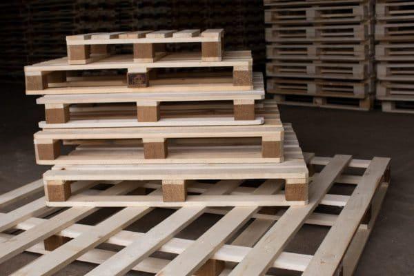 Складские деревянные европоддоны