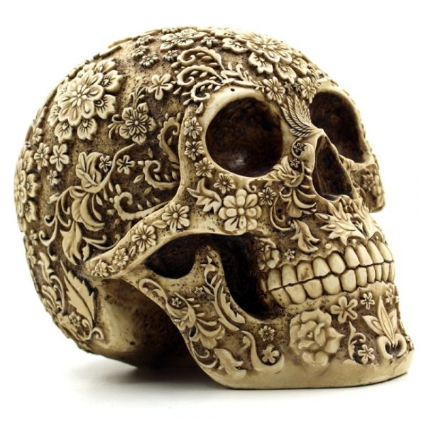 Красивый череп для Хеллоуниа