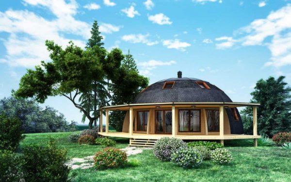 Дом цилиндрической формы