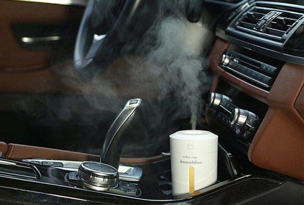 Мини увлажнитель воздуха для автомобиля