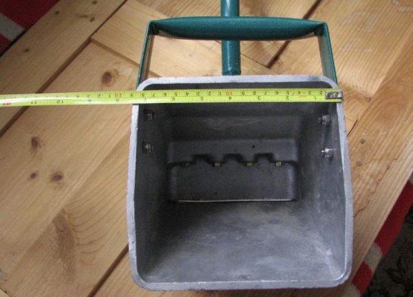 Самодельный хоппер ковш