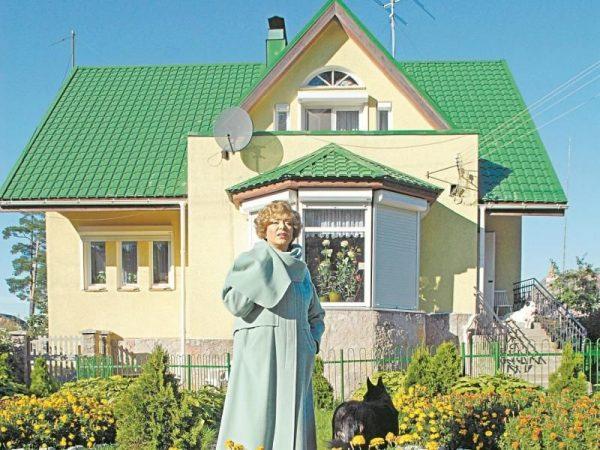 Загородный дом Эдиты Пьехи