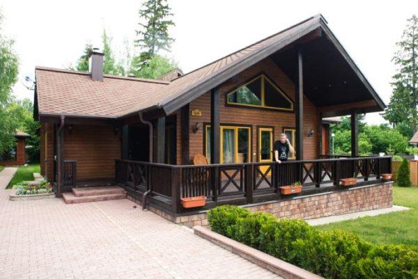 Загородный дом Бориса Грачевского