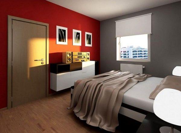 Цветовое решение для небольшой спальни