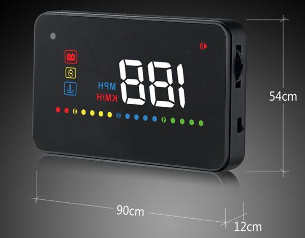 Дисплей-проектор на лобовое стекло автомобиля