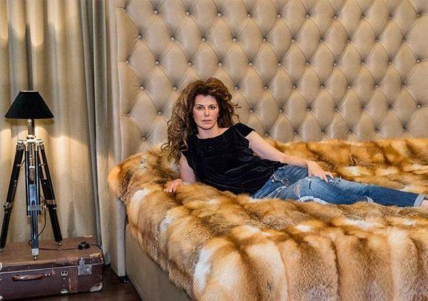 Спальня в доме Регины Мянник