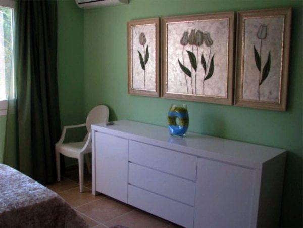 Интерьер спальни в квартире Ветлицкой