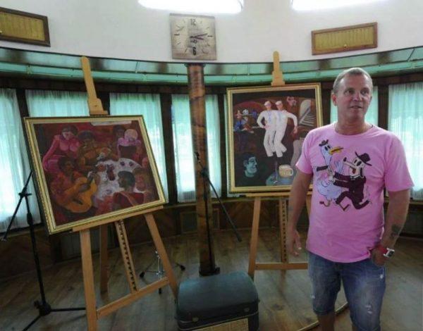 Коллекция картин Виктора Рыбина