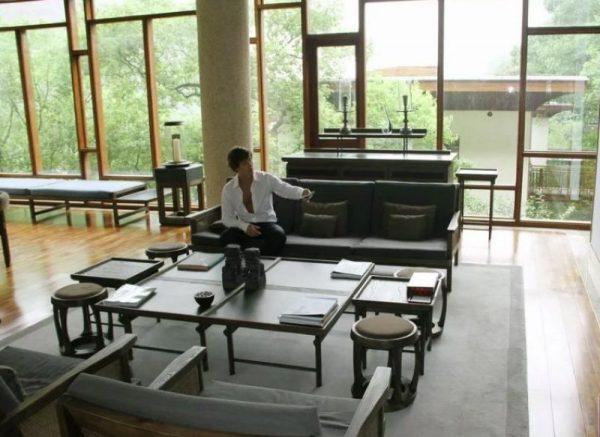 Дизайн дома Витаса в Шанхае - панорамные окна