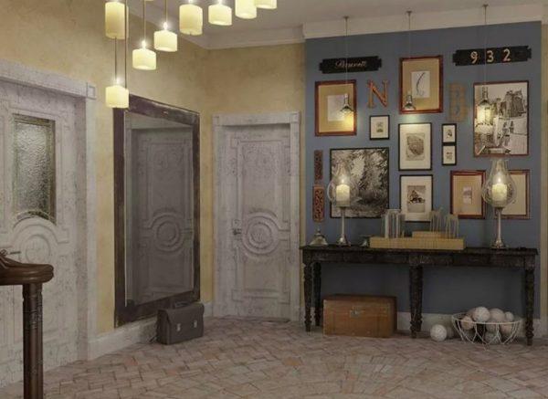 Винтажный коридор в доме Преснякова