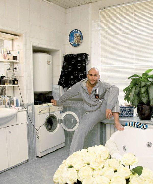 Московская квартира Аверина - дизайн ванной