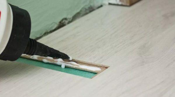 Применение герметика для древесины Килоса
