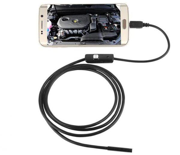 Гибкий эндоскоп с камерой со степенью защиты IP67