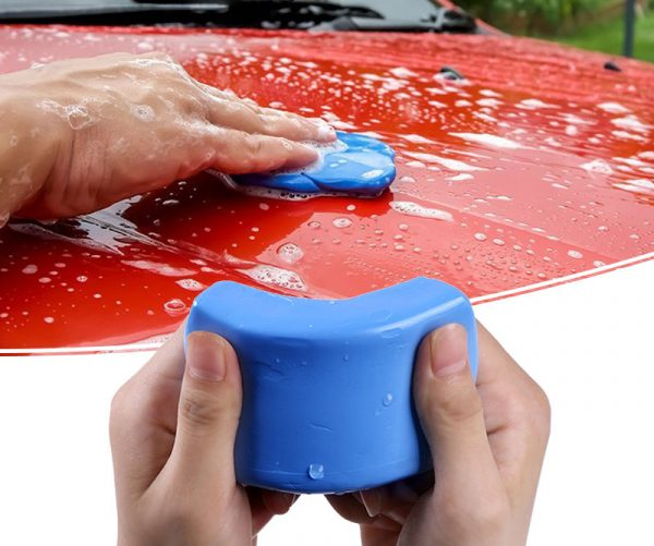 Глиняный брусок для чистки автомобиля