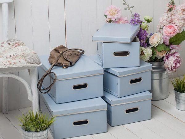 Использование большого количества коробок для хранения вещей не всегда удобно