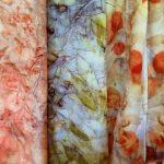 """Покраска ткани в технике """"батик на льду"""" в домашних условиях"""