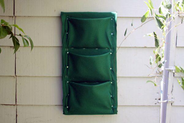 Карманы из ткани для растений