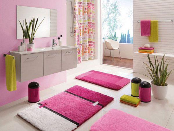 Коврики и полотенца для ванной