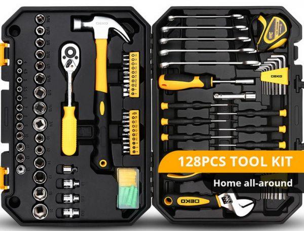 Набор ручных инструментов для автолюбителя DEKO