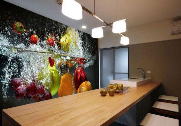 Натюрморт на стене кухни