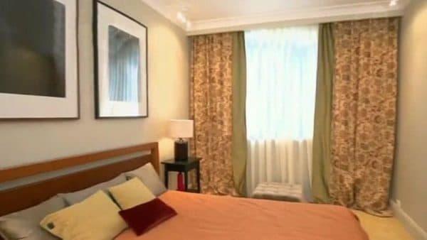 Спальня в столичной квартире Гузеевой