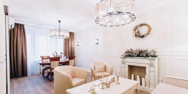 Гостиная в квартире Якубовича