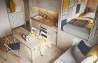 Обустройство и оформление маленькой квартиры